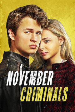 November Criminals movie poster.