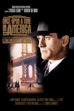 Once Upon a Time in America movie poster.