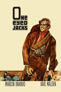 One-Eyed Jacks movie poster.