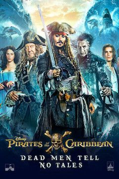 Pirates of the Caribbean: Dead Men Tell No Tales movie poster.