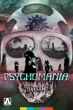 Psychomania movie poster.