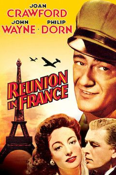 Reunion in France movie poster.