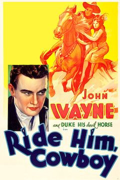 Poster for the movie Ride Him, Cowboy