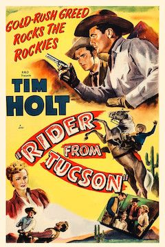 Rider From Tucson movie poster.