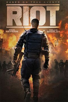 Riot movie poster.