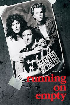 Running on Empty movie poster.