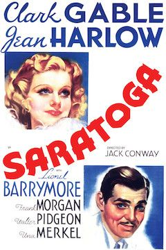Saratoga movie poster.