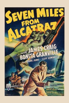 Poster for the movie Seven Miles From Alcatraz