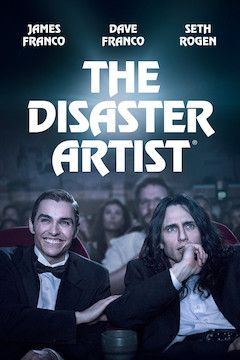 The Disaster Artist movie poster.