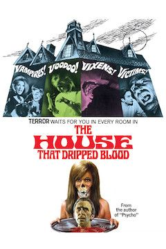The House That Dripped Blood movie poster.