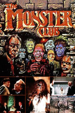 The Monster Club movie poster.