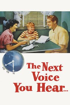 The Next Voice You Hear movie poster.
