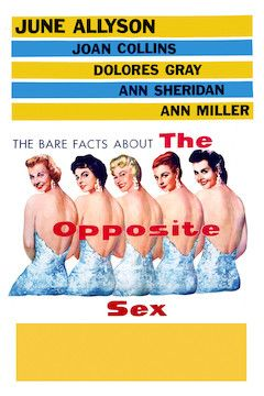 The Opposite Sex movie poster.