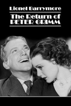 The Return of Peter Grimm movie poster.