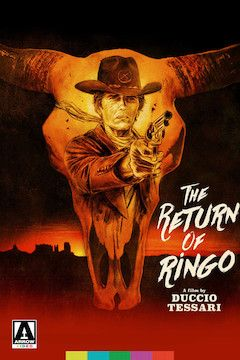 The Return of Ringo movie poster.