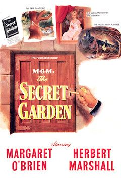 The Secret Garden movie poster.