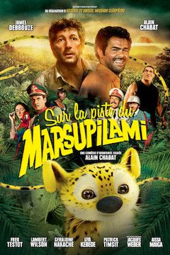 Poster for the movie Sur la piste du marsupilami