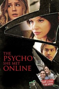 The Psycho She Met Online movie poster.