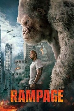 Poster for the movie Rampage