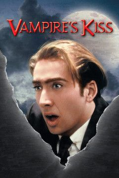 Vampire's Kiss movie poster.
