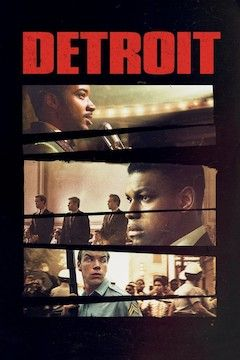 Poster for the movie Detroit