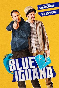 Blue Iguana movie poster.