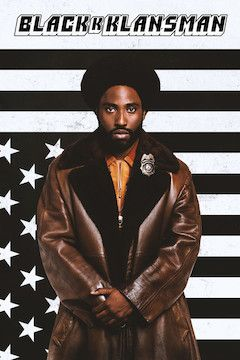 BlacKkKlansman movie poster.