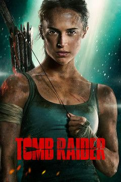Tomb Raider movie poster.