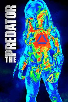 The Predator movie poster.