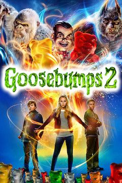 Goosebumps 2: Haunted Halloween movie poster.