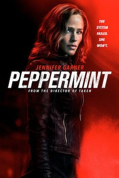 Peppermint movie poster.
