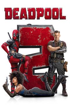 Deadpool 2 movie poster.