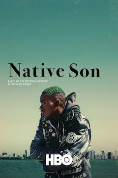 Native Son movie poster.
