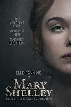 Mary Shelley movie poster.