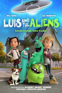 Luis and the Aliens movie poster.