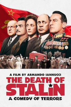 The Death of Stalin movie poster.