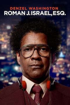 Roman J. Israel, Esq. movie poster.