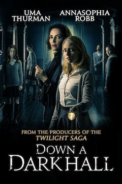 Down a Dark Hall movie poster.