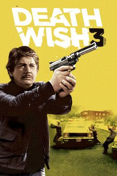 Death Wish III movie poster.