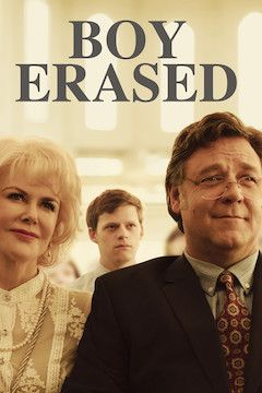 Poster for the movie Boy Erased