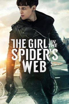 The Girl in the Spider's Web movie poster.