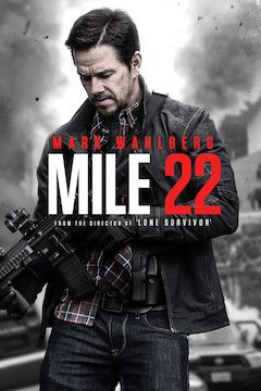 Mile 22 movie poster.