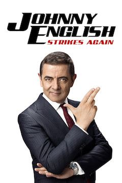 Johnny English Strikes Again movie poster.