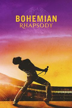 Bohemian Rhapsody movie poster.