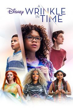 A Wrinkle in Time movie poster.
