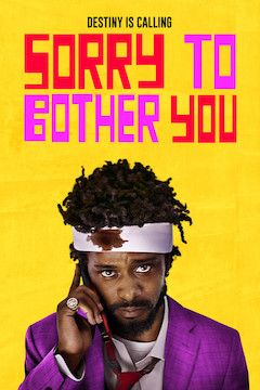 Sorry to Bother You movie poster.