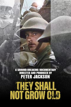Poster for the movie They Shall Not Grow Old