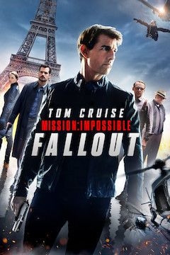 Mission: Impossible - Fallout movie poster.