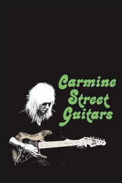 Poster for the movie Carmine Street Guitars