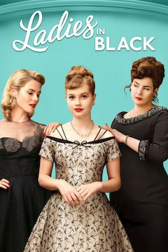 Ladies in Black movie poster.